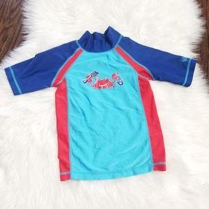 2/15$ 🔥 UV Rays Swim Short Sleeve Sun Block Shirt